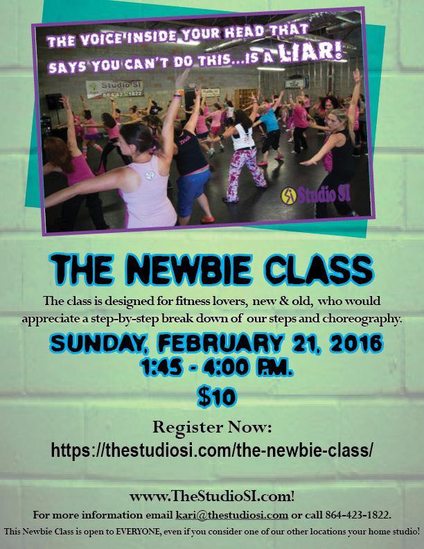 The Newbie Class 2 21 2016